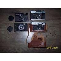 4 фотоаппарата одним лотом.лот продается целиком
