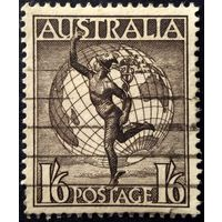 Австралия. Воздушная почта. без в/з. 1956г.