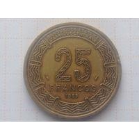 Экваториальная Гвинея 25 франков 1983г
