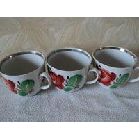 Чайная чашка  Барановка 1970-91гг,ручная роспись, лот 9