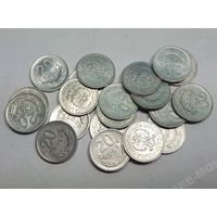 Польша, 20 грошей 1949,1961,1963,1965,1966,1967,1969,1971,1972,1973,1975,1976,1977,1978, 1981 год.