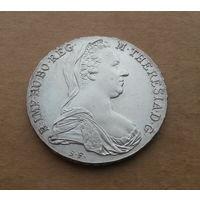 Австрия, талер Марии Терезии 1780-Х, серебро, рестрайк