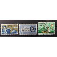 Колумбия\743\ 1955-66гаш Парусник, каноэ из Урабы, Корабль