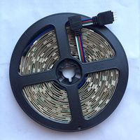 RGB 5050 светодиодная лента. 5 метров. 30 светодиодов на метр