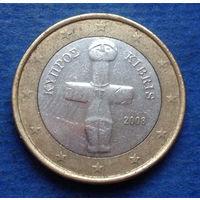 Кипр 1 евро 2008