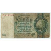 Германия, 50 марок (1924) 1933  год.