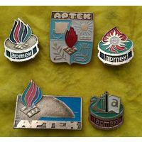 Значки Артек СССР сборный лот
