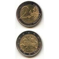 Литва 2 евро 2015 г.