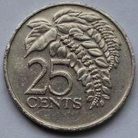 Тринидад и Тобаго, 25 центов 1983 г.