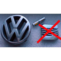 Эмблема VW Гольф-3, Т4 б/у отличное состояние Диаметр 105 мм