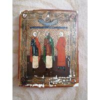 Икона Святые Гурий, Самое и Авив