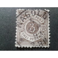 Германия 1890 Вюртемберг стандарт