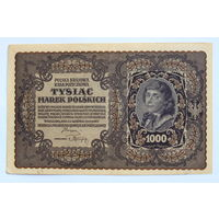 Польша, 1000 марок 1919 год.