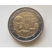 2 евро Франция 2010 70 лет речи Шарля де Голля