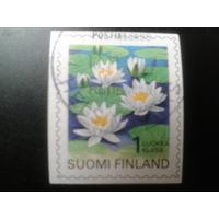 Финляндия 1996 стандарт, цветы