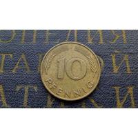 10 пфеннигов 1979 (F) Германия ФРГ #01