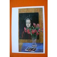 Жилинский Д. Д., Натюрморт с русским портретом; 1986.