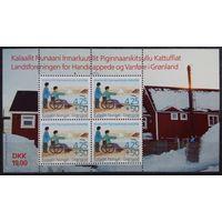 Региональная ассоциация инвалидов, Гренландия, 1996 год, малый лист