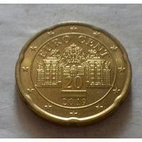 20 евроцентов, Австрия 2019 г., UNC
