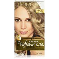 L'Oreal краска для волос Preference, 7 1/2 (холодный средне-русый) куплен в США