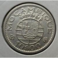 """Мозамбик 10 эскудо 1960 """"Гербы"""""""