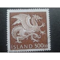 Исландия 1989 гос. герб