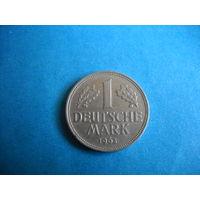 ФРГ 1 марка 1963 г. (D)