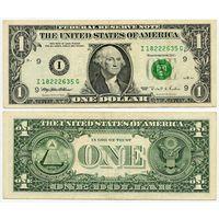 США. 1 доллар (образца 1995 года, I, Миннесота, P496)