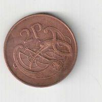 2 пенни 1971 года Ирландии