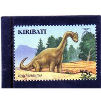 Кирибати. Mi:KI 1012. Динозавры. Брахиозавр. 2006.