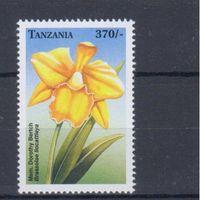 [1563] Танзания 1999. Флора.Цветы.Орхидеи.