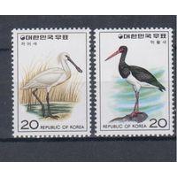 [296] Юж. Корея 1976.Фауна.Птицы.(1)