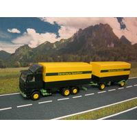 Модель грузового автомобиля SCANIA (1). Масштаб НО-1:87.