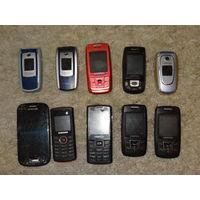 Ретро телефоны Самсунг Samsung 10 шт.