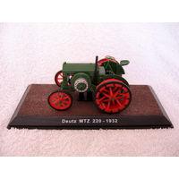 Масштабная 1:32 модель трактора Deutz MTZ 220 - 1932