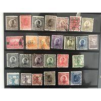 Лот марок Королевство Сербии, Хорватии и Словакии. Много чистых дорогих марок. Все на фото!  С 1 руб!