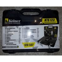 Универсальный набор инструментов Kolner KTS 123