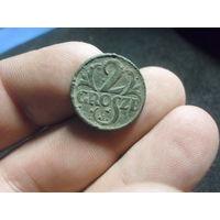 2 гроша 1927 г. Речь Посполита (4)