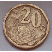 20 центов 2001 ЮАР