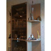 Шкаф на кухню, удобный и вместительный, высота 2,30 ширина 1,40 см,совсем немного бу, разобран и уже готов к транспортировке. В отличном состоянии. Очень вместительный, но занимает мало места. Хорошо