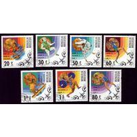 7 марок 1980 год Монголия Олимпиада 1303-1309