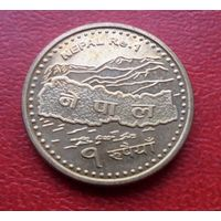 1 рупий Непал Карта ЭВЕРЕСТ - из коллекции