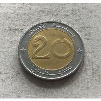 Алжир 20 динаров 2007