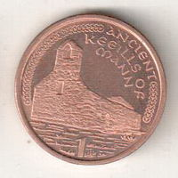 Остров Мэн 1 пенни 2000