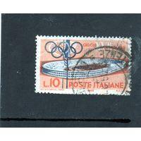 Италия. Олимпийские игры. Рим. Олимпийский стадион.1960.
