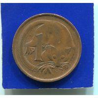 Австралия 1 цент 1974