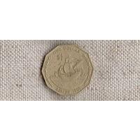 Белиз 1 доллар 1991 /корабль/(Sx)