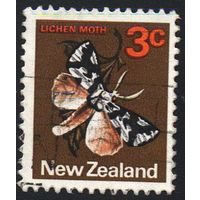 1970 - Новая Зеландия - Стандарт - Бабочки 3 Mi.521