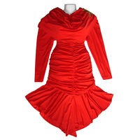 Вечернее платье большого размера для выпускного, на Новый Год, на свадьбу, для сцены либо просто на нужный случай, пр-во Турция, универсальный размер (44-50), хорошо тянется, цвет красный, прекрасное