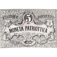 Италия, 5 лир, 1848 г. Состояние!